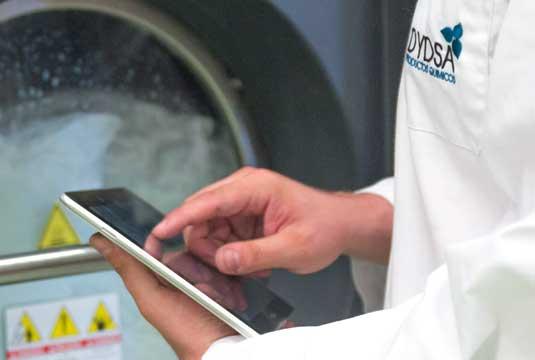 Laundry data control